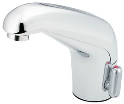 moen 8308 m power sensor operated electronic lavatory faucet without drain chrome