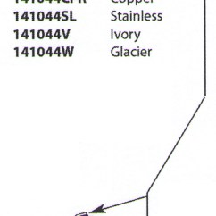 Moen Kitchen Faucet Parts Professional Accessories 141044sl Aberdeen Replacement Wand Stainless ...