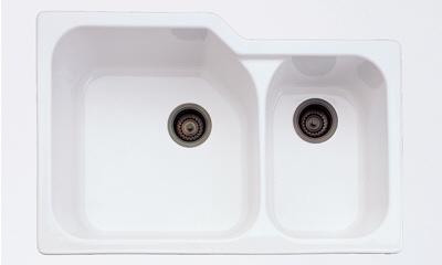rohl kitchen sinks brick outdoor 6337 00 allia undermount sink white faucetdepot com
