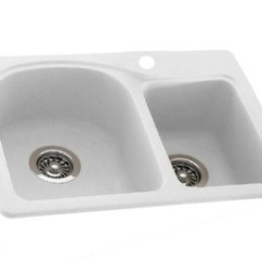 Swanstone Kitchen Sink Countertop Pop Up Electrical Outlet Ksdb-2518-010 Classics 25