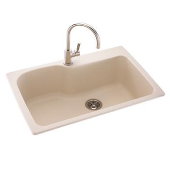 Swanstone Kssb 3322 015 Large Single Bowl Kitchen Sink Black Galaxy