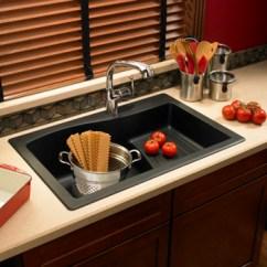 Franke Kitchen Faucet Full Swanstone Qzad-3322-077 Large Drop-in Ascend Single Bowl ...