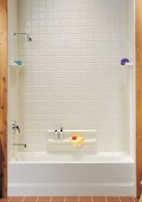 Swanstone TI-5-010 SwanTile Tub Wall Kit - White ...