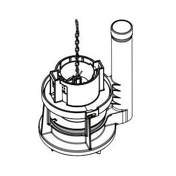 Toto THU460.6D-A Flush Tower Type Drain Valve