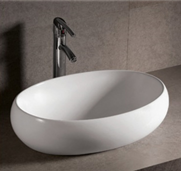 home depot kitchen sink faucet master forge modular outdoor whitehaus whkn1091 isabella oval vessel with offset ...
