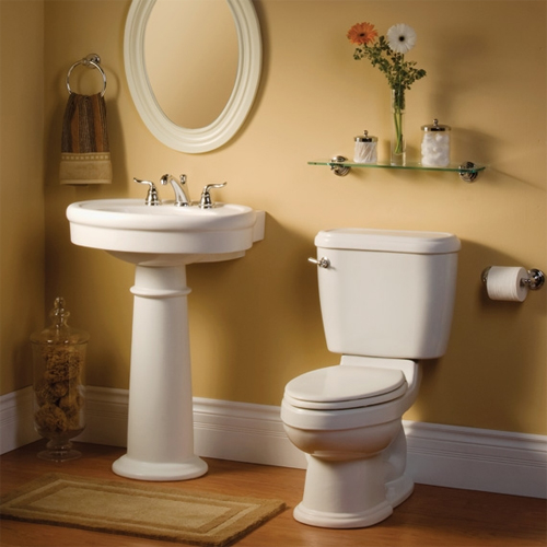 american standard 0283 800 222 standard complete pedestal sink linen