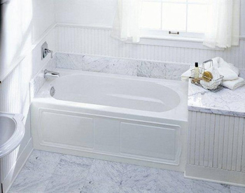 Kohler K1184LA0 Devonshire 5 Bath With Integral Apron