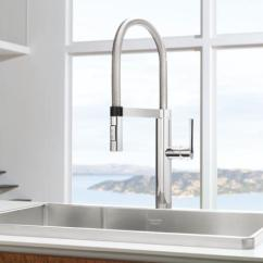 Professional Kitchen Faucets 5th Wheel Bunkhouse Outdoor Blanco 441331 Culina Semi Pro Faucet - Chrome ...