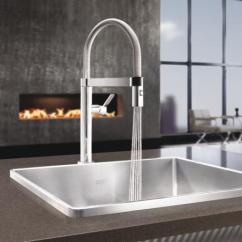 Home Depot Delta Kitchen Faucets Tile Backsplash Ideas For Blanco 441624 Culina Mini 1.8 Gpm Faucet With Pull ...
