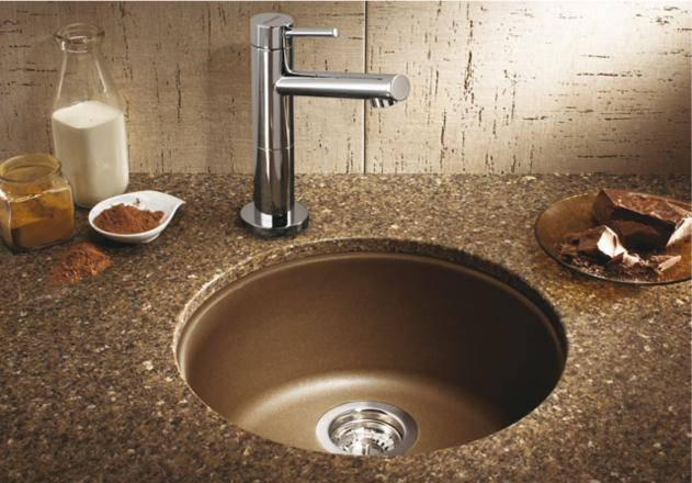 home depot kitchen sinks and faucets custom outdoor kitchens blanco 515803 rondo single bowl secondary sink - cafe ...
