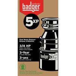 Home Depot Faucets Kitchen Moen Cherry Island Insinkerator Badger 5xp Garbage Disposal - Faucetdepot.com