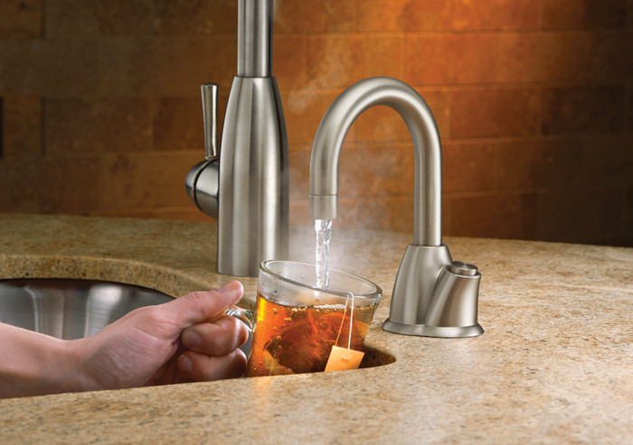 moen kitchen soap dispenser portable islands for the insinkerator h-hot100c instant hot water ...