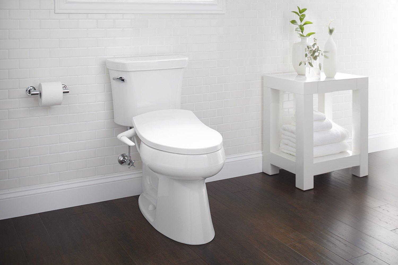 Kohler K57240 Puretide Manual Cleansing Elongated Toilet