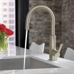 Elkay Kitchen Sinks Sink Grids Moen S72308srs Sto Single Handle High Arc Pulldown ...