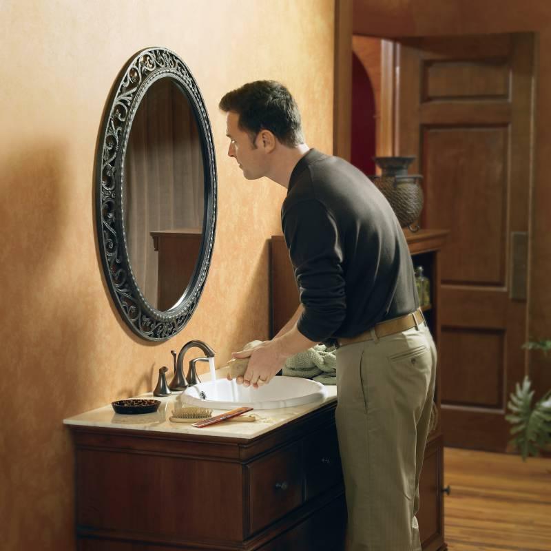 Moen T6420ORB Eva TwoHandle Widespread Lavatory Faucet