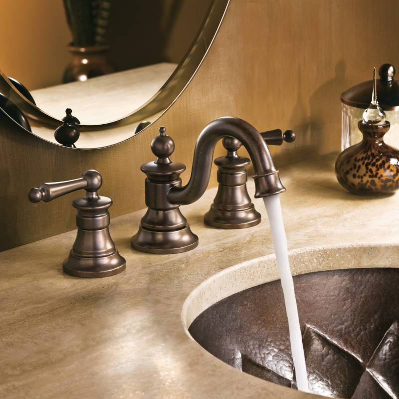 Moen ShowHouse TS418ORB Waterhill Two Handle Widespread