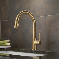 Home Depot Kitchen Faucets Delta Modern Pendant Lighting For 9159-cz-dst Trinsic Single Handle Pull-down ...