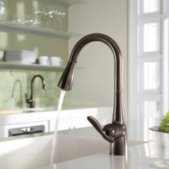 Moen Kitchen Buffet 7594orb Arbor Single Handle High Arc Pulldown Faucet