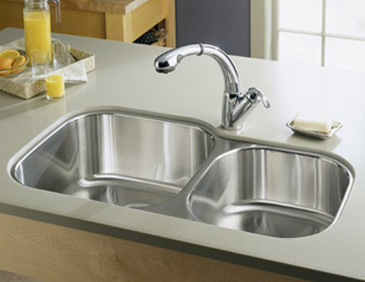 swanstone single bowl kitchen sink lighting pics how to choose a sink: stainless steel, undermount ...