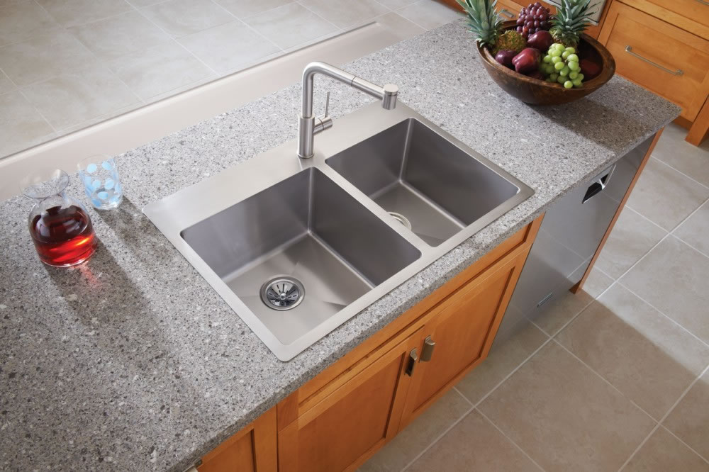 swanstone single bowl kitchen sink lowes light fixtures how to choose a sink: stainless steel, undermount ...