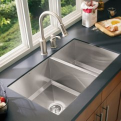 Under Mount Kitchen Sink Roman Shades How To Choose A Stainless Steel Undermount Drop In Moen Sinks