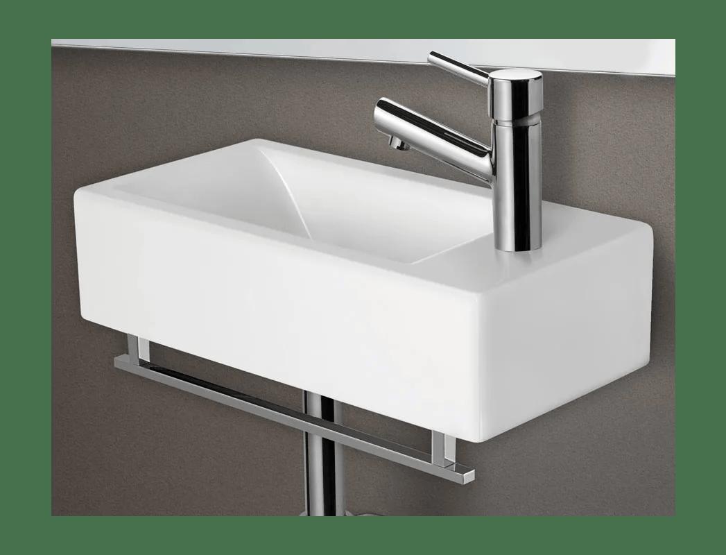 Alfi Brand Ab108tb Chrome 17 Squared Towel Bar For