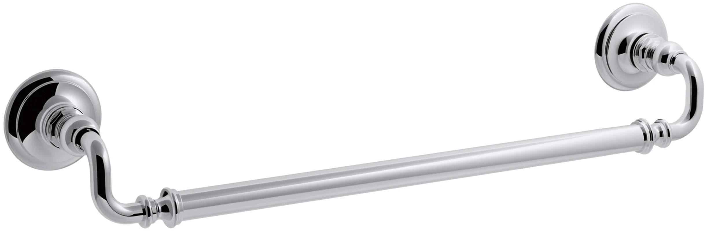 Kohler K Cp Polished Chrome Artifacts 18 Towel Bar
