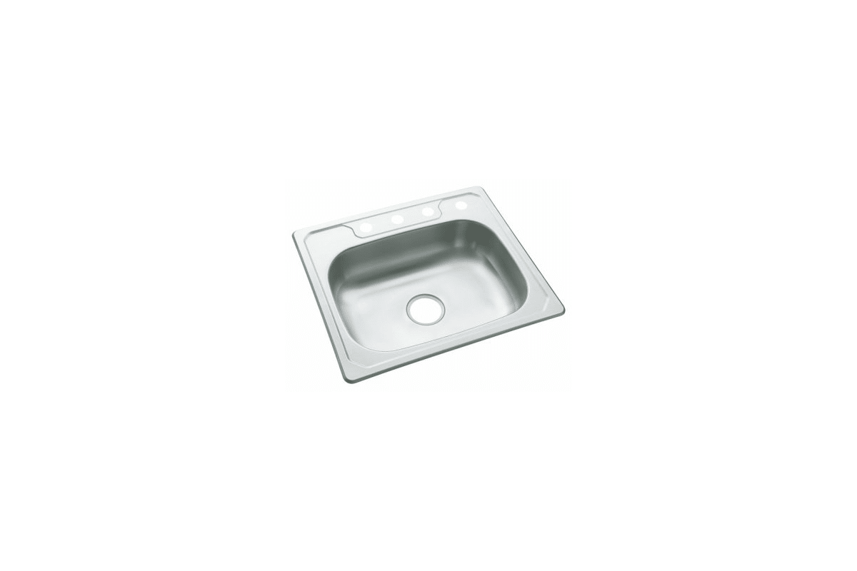Sterling 3 Na Stainless Steel Middleton Single Basin