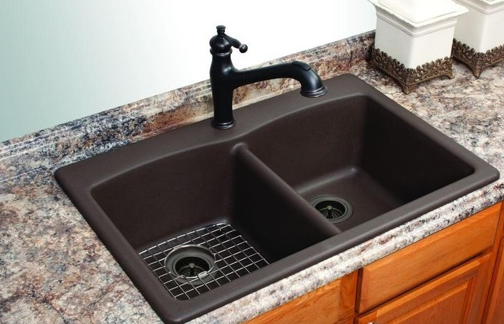 sink for kitchen microwave cabinet 6 best sinks reviews unbiased guide 2018 faucet mag composite
