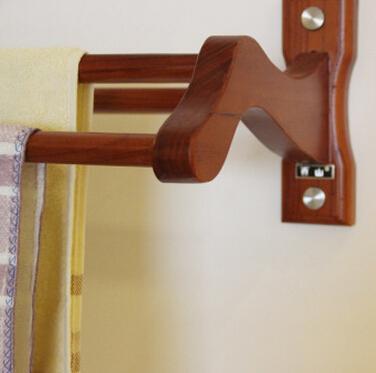 Decorative Wood Rustic Towel Bars For Bathroom