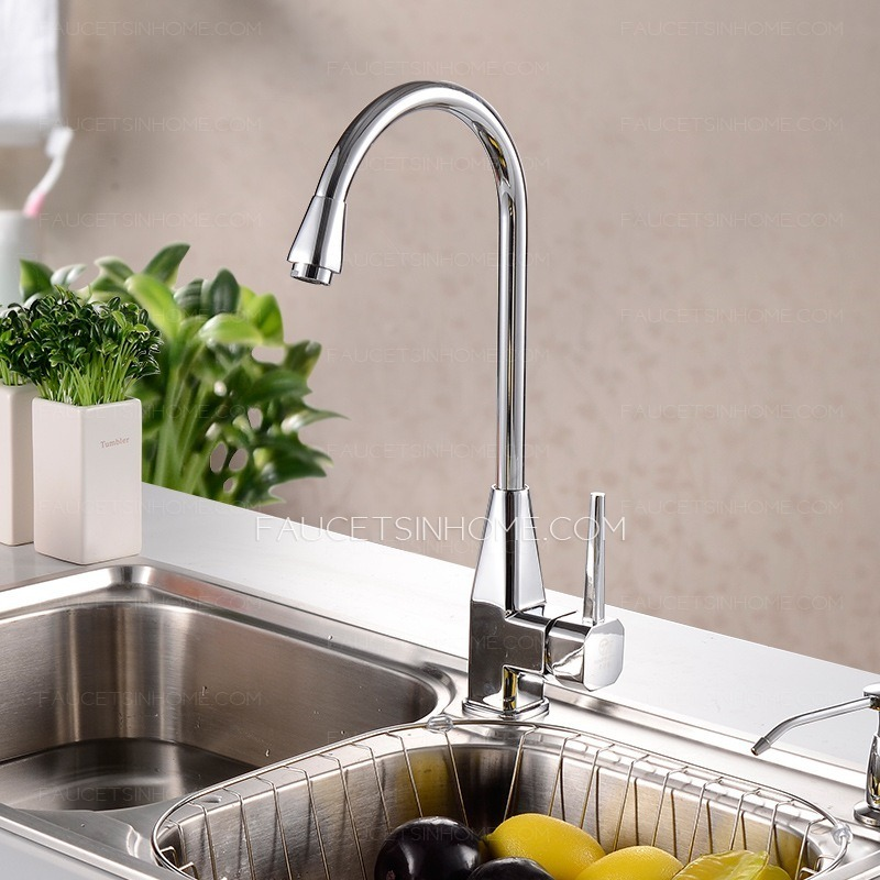 modern kitchen sink faucet of rotatable pipe ftsih150407091327