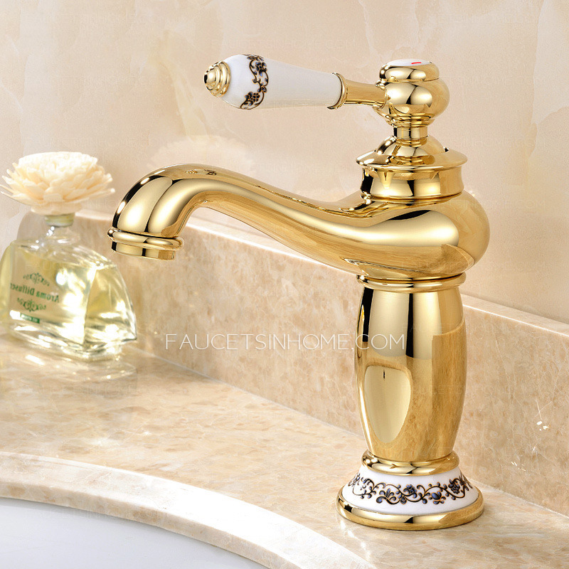polished gold bathroom faucets  My Web Value
