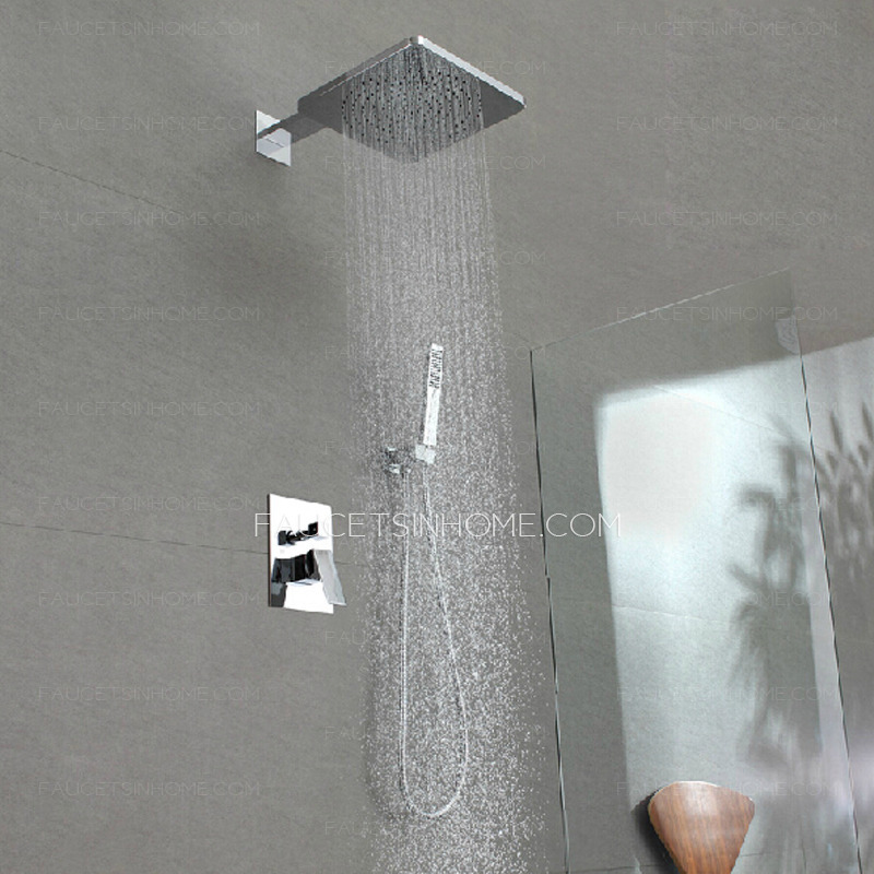 High End Concealed Wall Mount Super Top Shower Faucet System