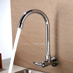 Kitchen Wall Faucets Design Tools Cheap Cold Water Only Mount Sink Faucet Sale