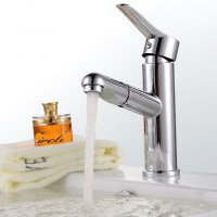 Hot Sale Copper Pull Out Spray Bathroom Sink Faucet