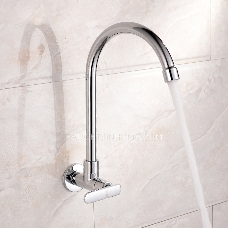 affordable cold water single hole wall mount kitchen faucet ftsih15052717031112