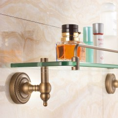 Antique Copper Kitchen Faucet Chairs On Rollers Bronze Single Wall Mounted Glass Shelves For Bathroom