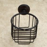 Black Oil Rubbed Bronze Toilet Paper Basket Holder
