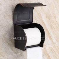 Vintage Oil Rubbed Bronze Bathroom Toilet Paper Holders