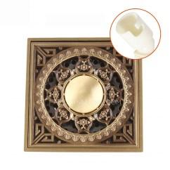 Kitchen Sink Mats Small Recycling Bins For Custom Shower Antique Brass Bathroom Floor Drains