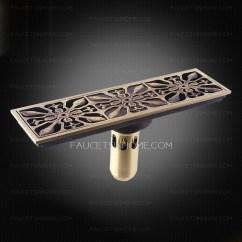 Automatic Kitchen Faucet Touch Decorative Antique Bronze Rectangular Shower Drains