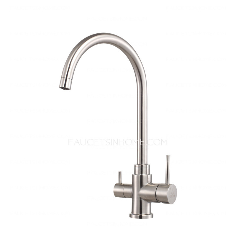 Advanced Stainless Steel Dual-Rotatable Kitchen Faucet For