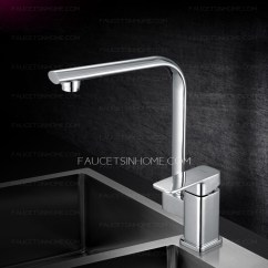 Kitchen Curtain Sets Campingaz Modern Square Shaped Single Handle Faucets
