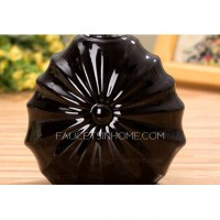 Decorative Ceramic Black Bathroom Soap Dispensers