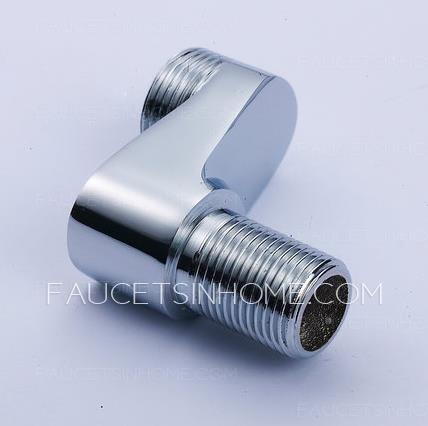 Chrome Brass Eccentric Screw Plus Size Adapter Shower