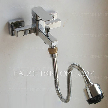 chrome brass extension tube of faucet with spout fth1609211549579