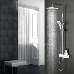 Floor Mats For Kitchen Square Faucet Modern Chrome Stainless Steel Rain Shower System With ...