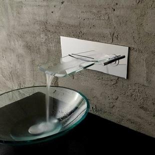 single handle chrome waterfall bathroom sink faucet t0500 t0500 64 99