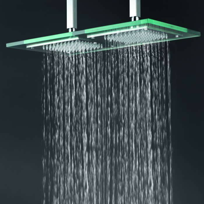 Shower Light Rain Led Head