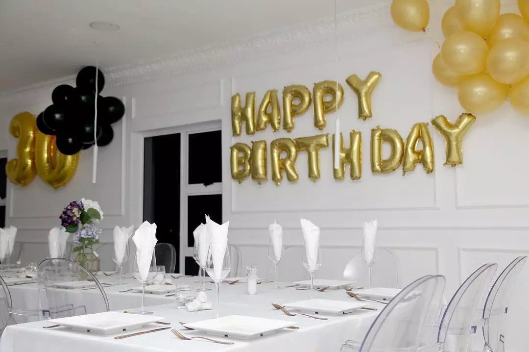 private birthday functions